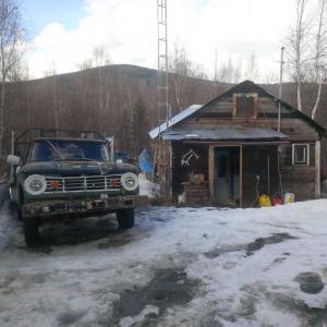 Alex's Yukon home and vintage truck 2015