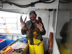 Alex and a Lobster dec '10