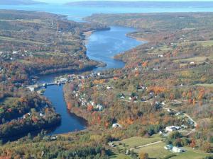 Bear River, NS where Alex was born