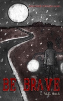 Be Brave is a short story cover that I designed for the author who wanted something different by being a hand drawn cover. I added the red after in photoshop.