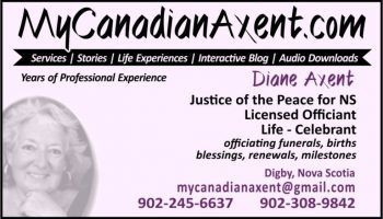 Diane Axent had come to me to re-develop her site, which meant re-designing her business cards to advertise her new brand and website.
