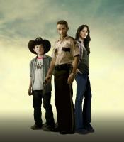 The early Walking Dead family
