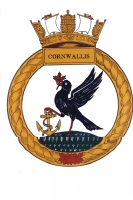 Cornwallis Sea Cadets original logo that was supplied to me
