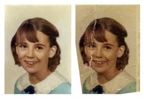 After and Before Photo Restoration
