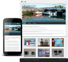 Digby Print and Promo is a print and promotional business located in Digby Nova Scotia. This website was created to showcase  work and to make it easier to contact for more information.